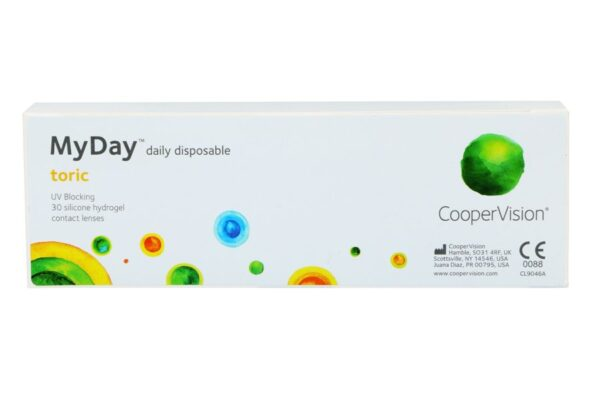MyDay daily disposable toric 30 Tageslinsen