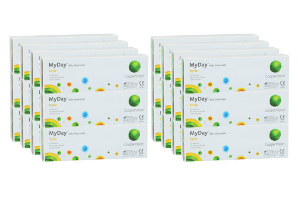 MyDay daily disposable toric 8 x 90 Tageslinsen Sparpaket 12 Monate