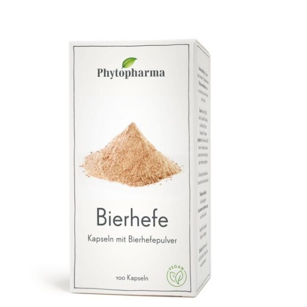 Phytopharma Bierhefe Kapsel (100 Stück)