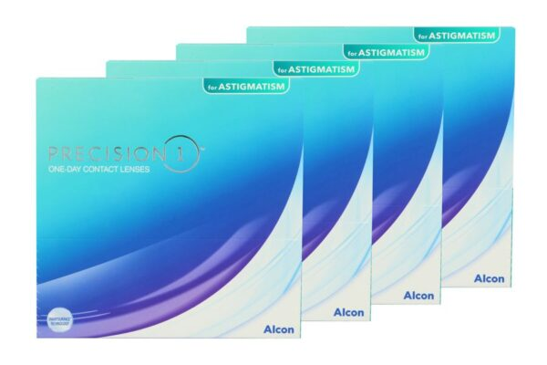Precision 1 for Astigmatism 4 x 90 Tageslinsen Sparpaket für 6 Monate