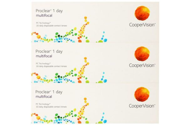 Proclear 1 day multifocal 90 Tageslinsen