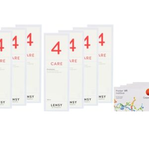 Proclear Multifocal XR 4 x 6 Monatslinsen + Lensy Care 4 Jahres-Sparpaket