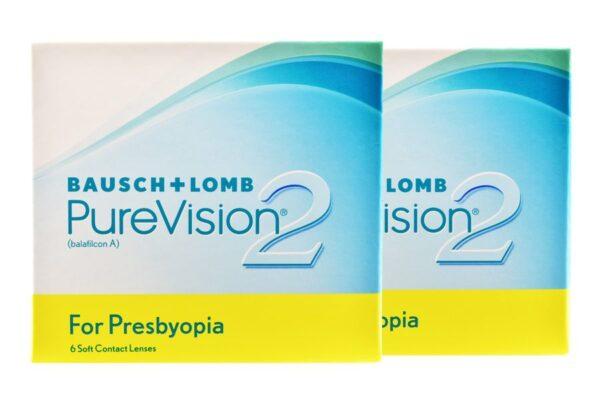 Pure Vision 2 For Presbyopia 2 x 6 Monatslinsen