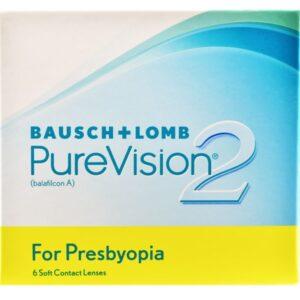 Pure Vision 2 For Presbyopia 6 Monatslinsen