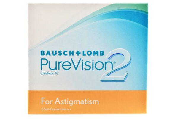 Pure Vision 2 HD For Astigmatism 6 Monatslinsen
