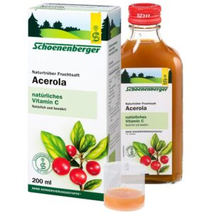 Schoenenberger® Acerola, Jus de fruit naturel trouble