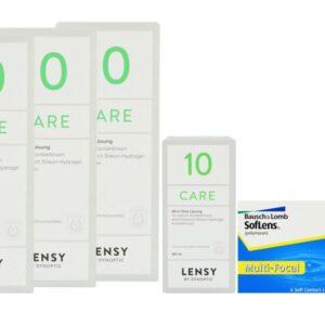 SofLens Multi-Focal 2 x 6 Monatslinsen + Lensy Care 10 Halbjahres-Sparpaket