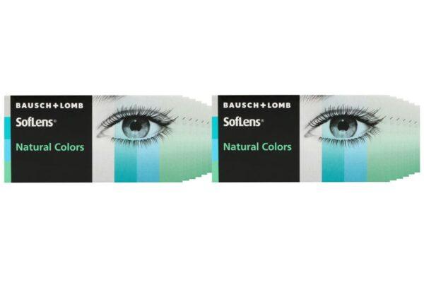 SofLens Natural Colors 12 x 2 farbige Monatslinsen