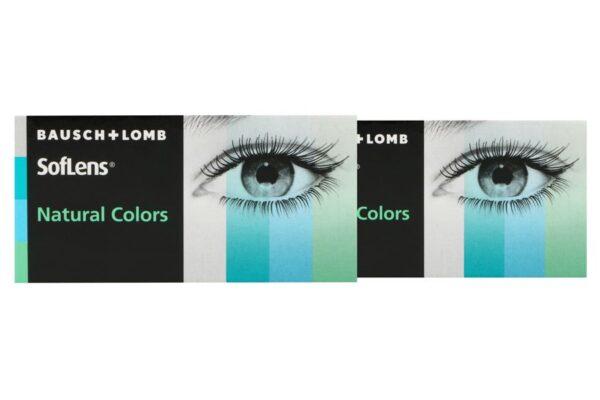 SofLens Natural Colors 2 x 2 farbige Monatslinsen