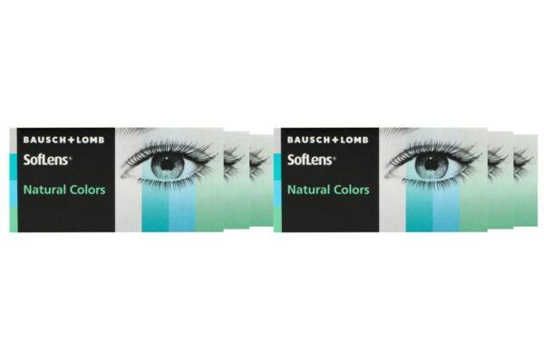 SofLens Natural Colors 6 x 2 farbige Monatslinsen