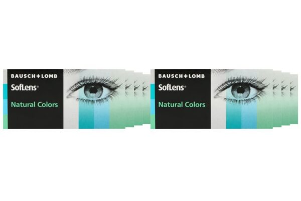 SofLens Natural Colors 8 x 2 farbige Monatslinsen