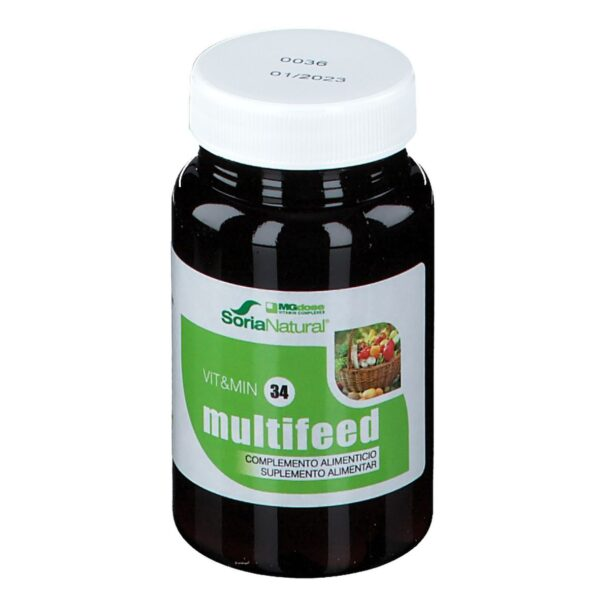 SoriaNatural® VIT&MIN 34 Multifeed