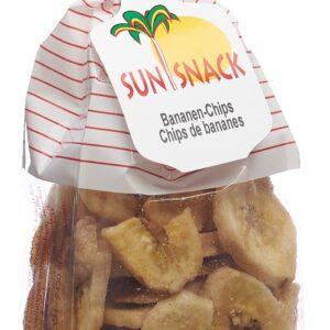 Sun Snack Bananen-Chips (120 g)
