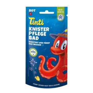 Tinti® Knister Pflegebad rot