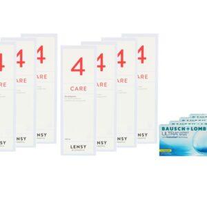 Ultra for Presbyopia 4 x 6 Monatslinsen + Lensy Care 4 Jahres-Sparpaket