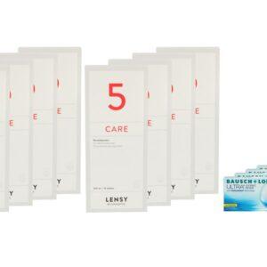 Ultra for Presbyopia 4 x 6 Monatslinsen + Lensy Care 5 Jahres-Sparpaket