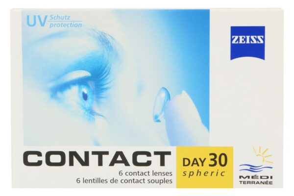 Zeiss Contact Day 30 spheric 6 Monatslinsen