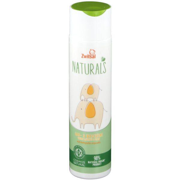 Zwitsal Naturals Crème lavante & bain bébé