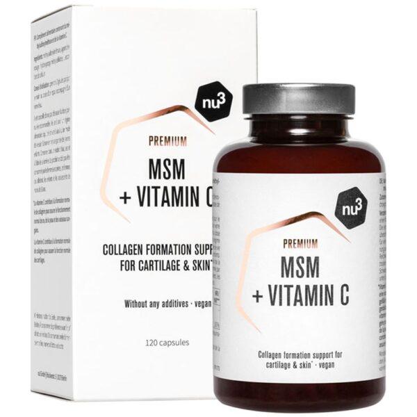 nu3 Premium MSM, Kapseln