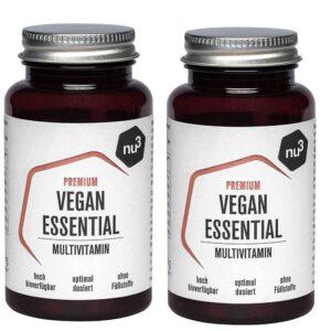 nu3 Premium Vegan Essential Multivitamines + nu3 Premium Bio Vitamine C