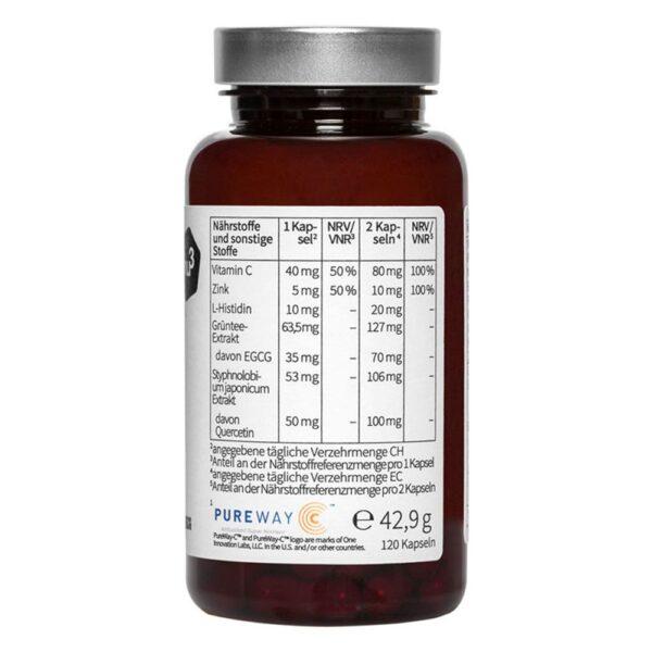 nu3 Premium Zink, vegan