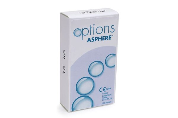 options Asphere 6 Monatslinsen