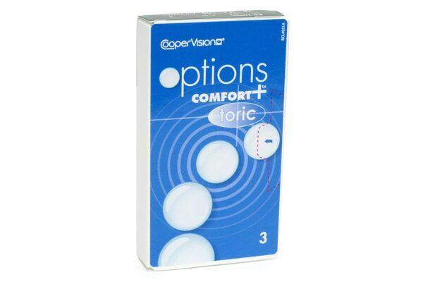 options Comfort+ toric 3 Monatslinsen
