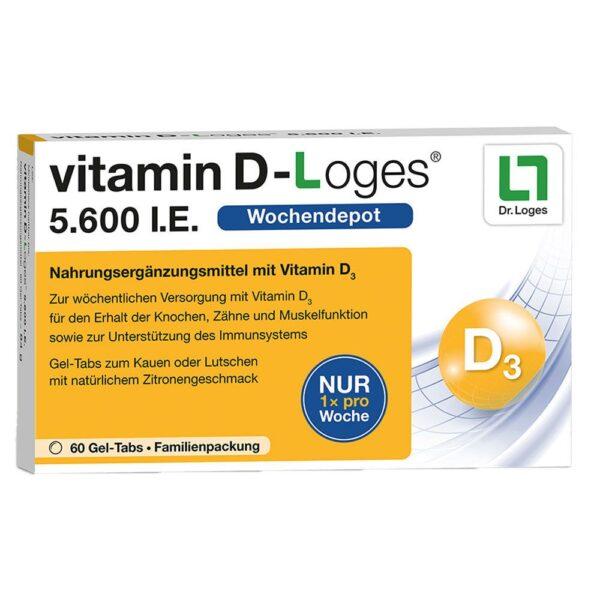 vitamin D-Loges® 5.600 I.E.