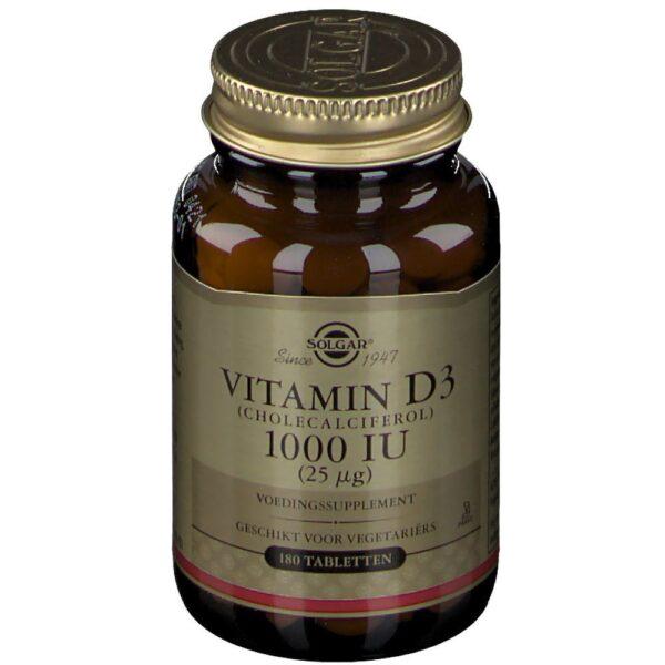 SOLGAR® Vitamin D-3 25 μg/1000 IU