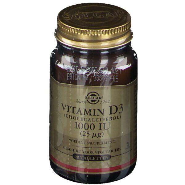 SOLGAR® Vitamin D3 25 μg/1000 IU