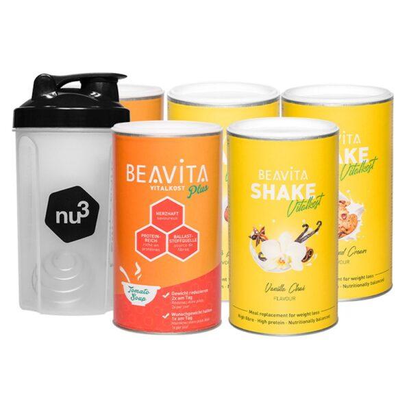 BEAVITA 4-Wochen-Diätpaket Suppen- & Shake-Mix