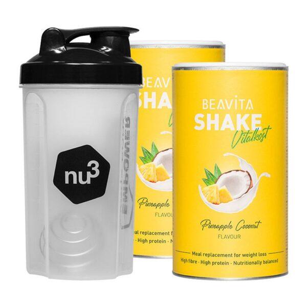 BEAVITA 7-Tage-Diät-Starterpaket, Kokos-Ananas