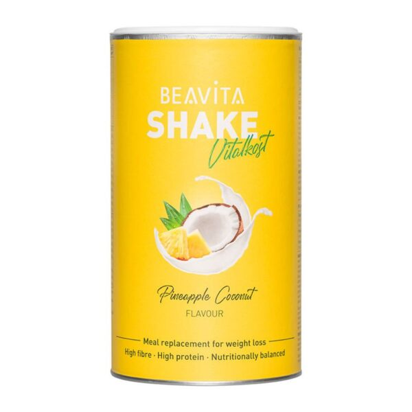 BEAVITA Vitalkost Plus, Diät-Shake, Kokos-Ananas