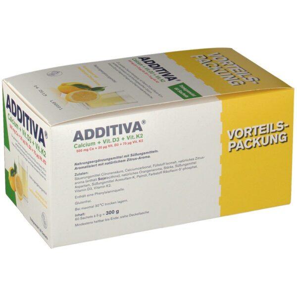 ADDITIVA® Calcium + Vit. D3 + Vit. K2