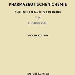 Kurzes Lehrbuch der Pharmazeutischen Chemie