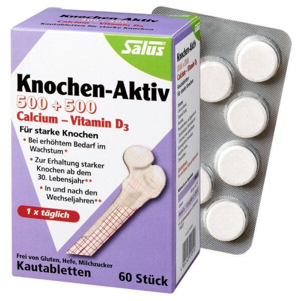 Salus® Knochen-Aktiv Calcium - Vitamin D3