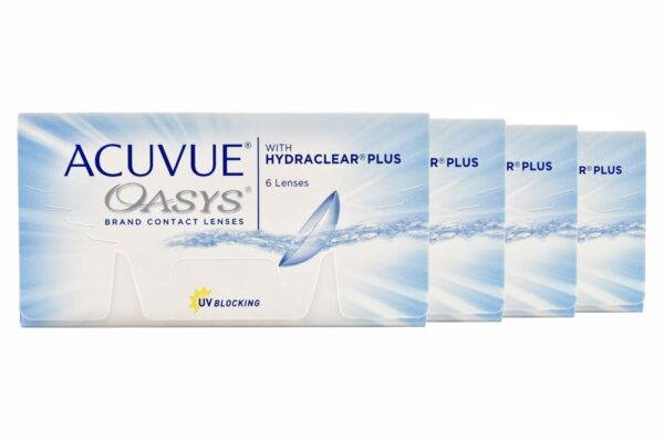 Acuvue Oasys 4 x 6 Zwei-Wochenlinsen
