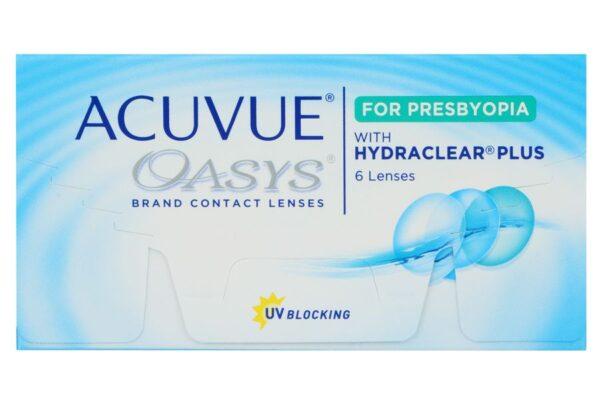 Acuvue Oasys for Presbyopia 6 Zwei-Wochenlinsen