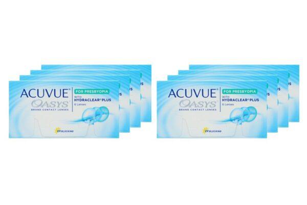 Acuvue Oasys for Presbyopia 8 x 6 Zwei-Wochenlinsen