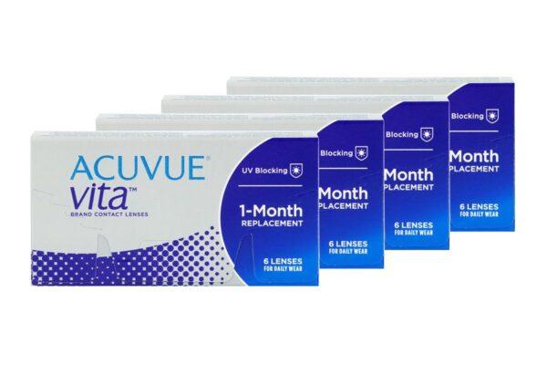 Acuvue Vita 4 x 6 Monatslinsen