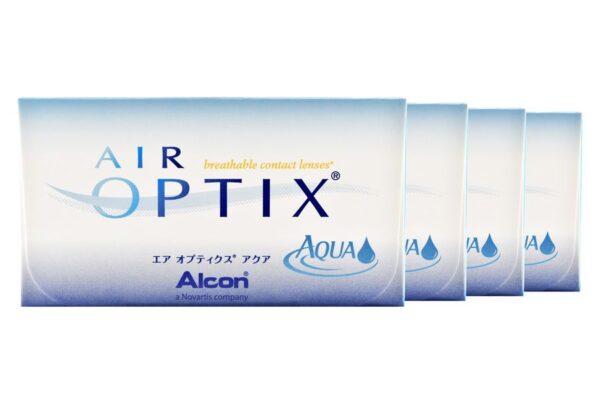 Air Optix Aqua 4 x 6 Monatslinsen