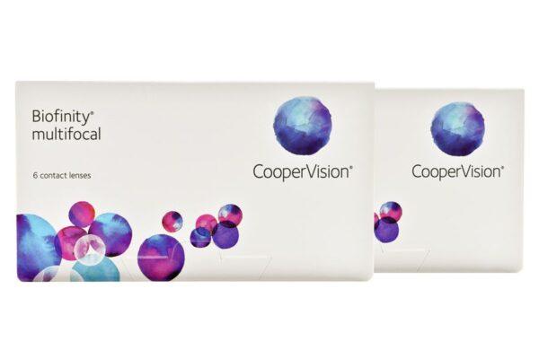 Biofinity multifocal 2 x 6 Monatslinsen