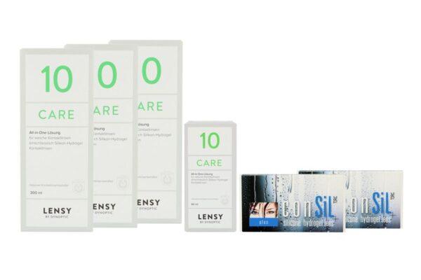 ConSiL Plus Toric 2 x 6 Monatslinsen + Lensy Care 10 Halbjahres-Sparpaket