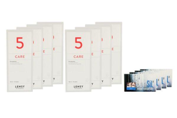 ConSiL Plus Toric 4 x 6 Monatslinsen + Lensy Care 5 Jahres-Sparpaket