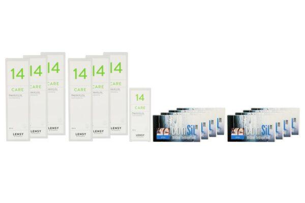ConSiL Plus Zoom 8 x 3 Monatslinsen + Lensy Care 14 Jahres-Sparpaket
