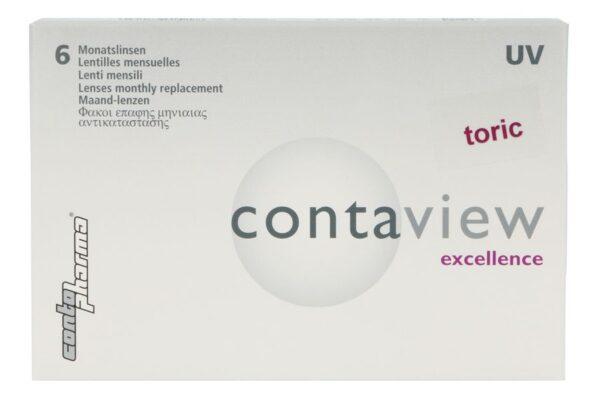 Contaview excellence toric UV 6 Monatslinsen
