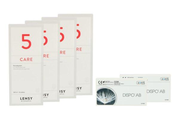Dispo AB 2 x 6 Monatslinsen + Lensy Care 5 Halbjahres-Sparpaket