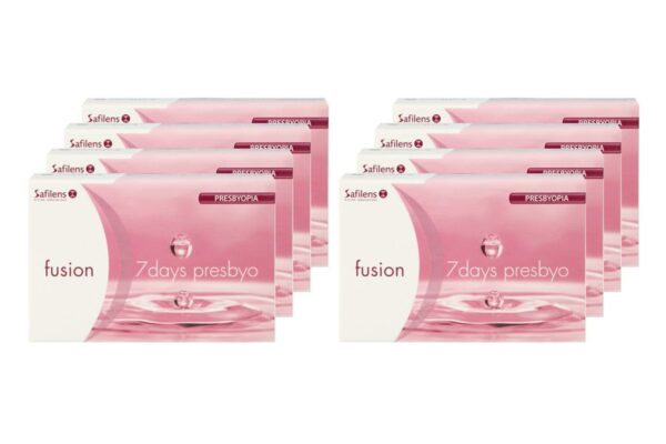 Fusion 7 Days presbyo 8 x 12 Wochenlinsen