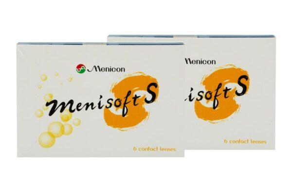 Menisoft S 2 x 6 Zwei-Wochenlinsen