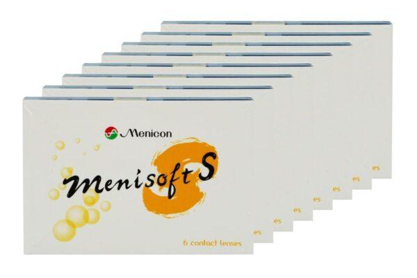 Menisoft S 8 x 6 Zwei-Wochenlinsen